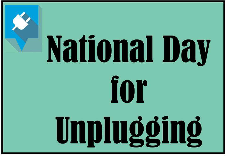 National Day of Unplugging Wishes Sweet Images