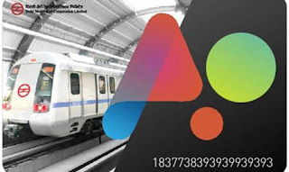 delhi metro new auto recharge smart card