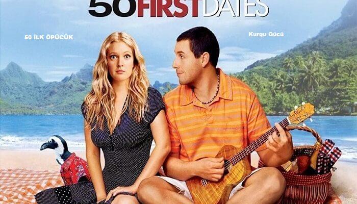 En Çok İzlenen Aşk Filmleri - 50 İlk Öpücük - Kurgu Gücü