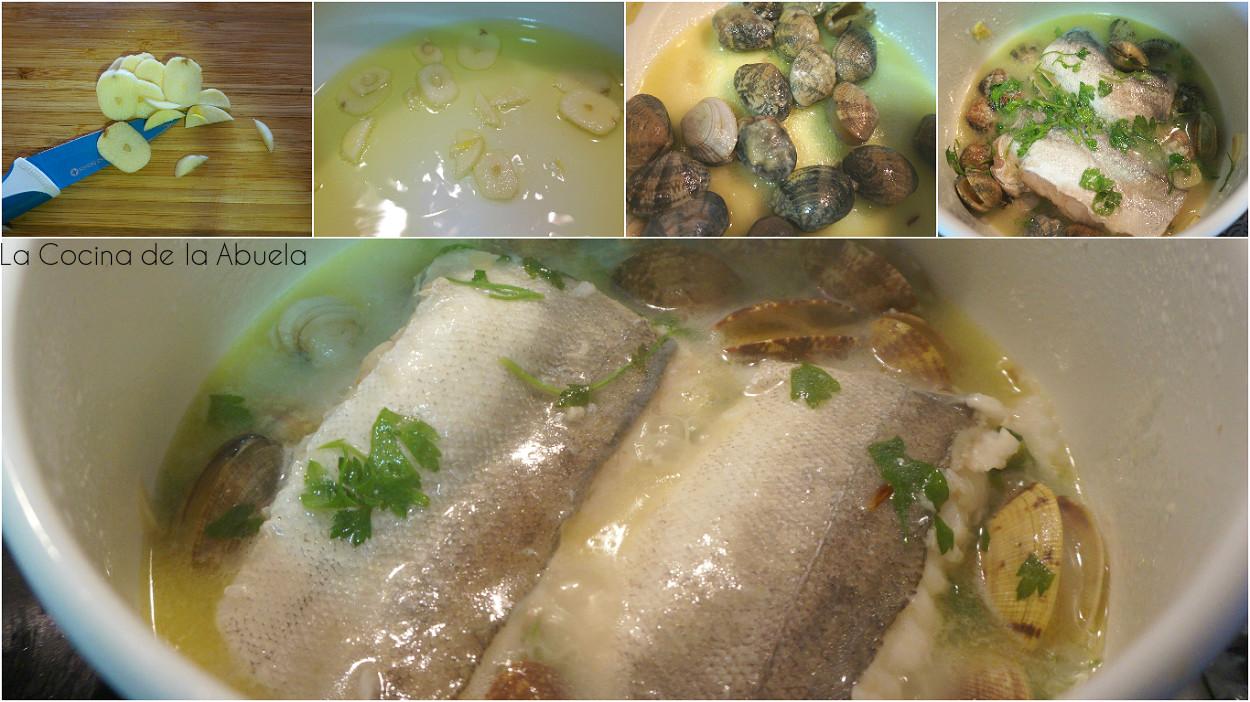 Merluza en salsa verde con almejas la cocina de la abuela - Salsa verde para almejas ...