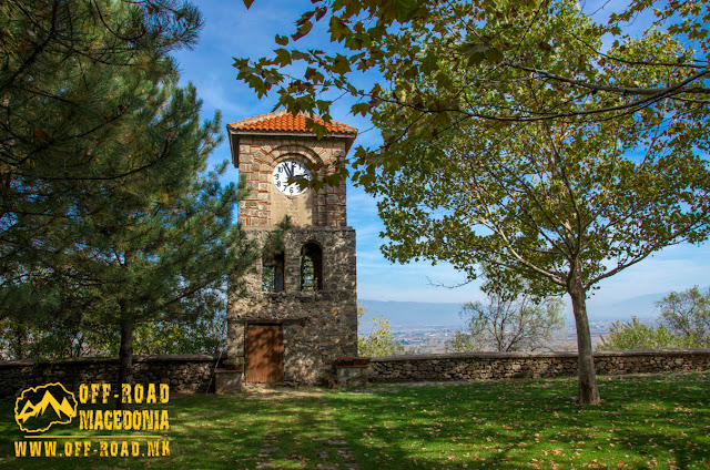 Clock Tower - Veljusa Monastery near Strumica