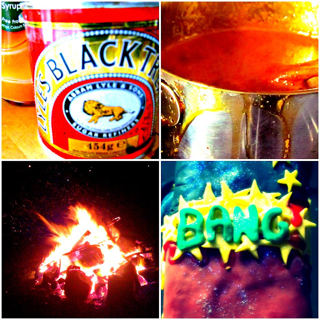 Bonfire Night treacle and warming fires