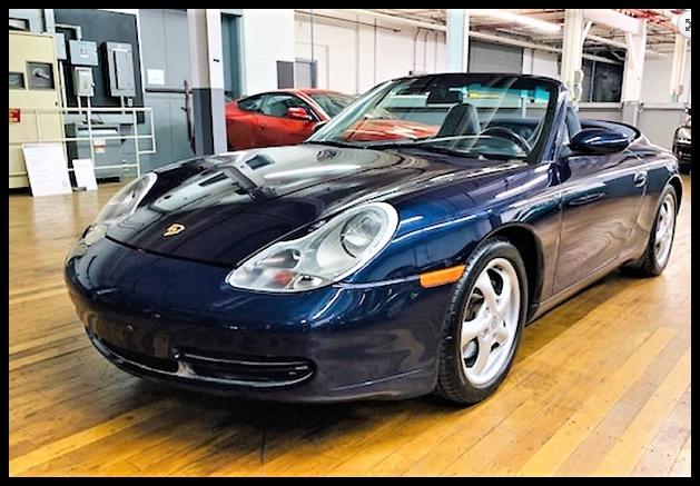 Porsche 996 sports cars