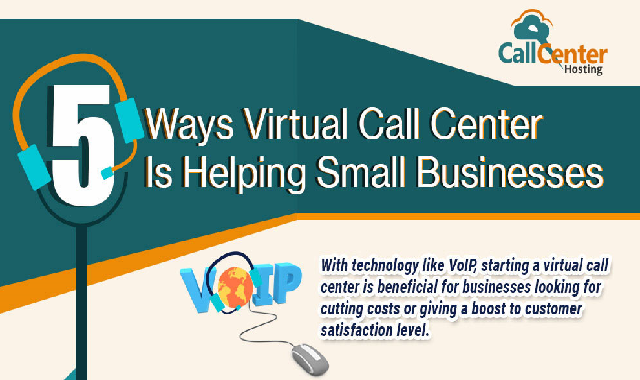 5 Ways Virtual Call Center is Helping Small Businesses #infographic
