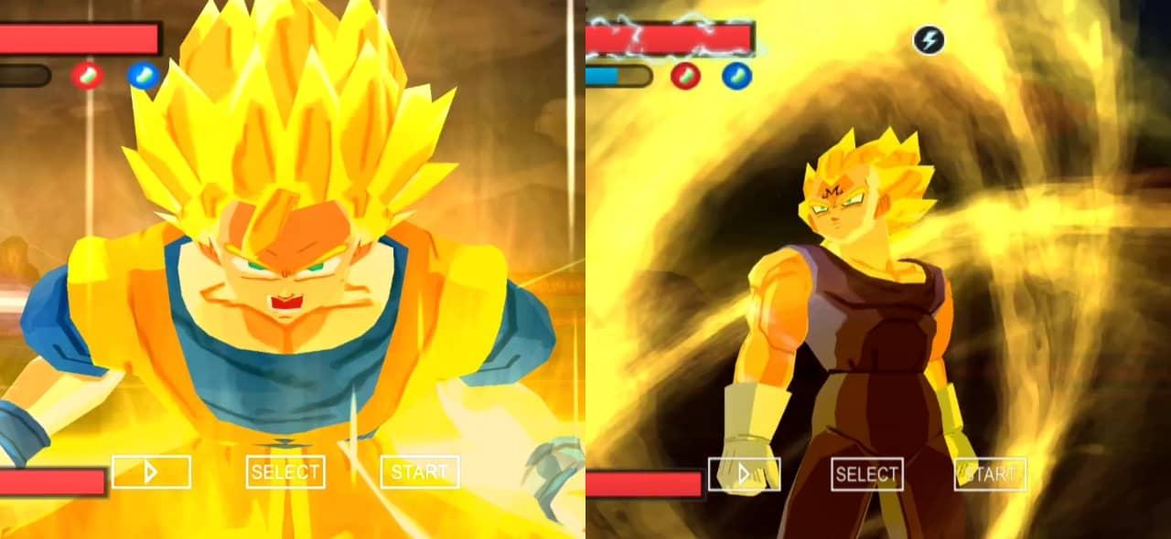 Dragon Ball Z Goku Vs Majin Vegeta