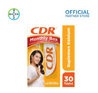 CDR Raisa Hamish Monthly Box (CDR Rasa Jeruk 15 Tablet x 2 Unit)