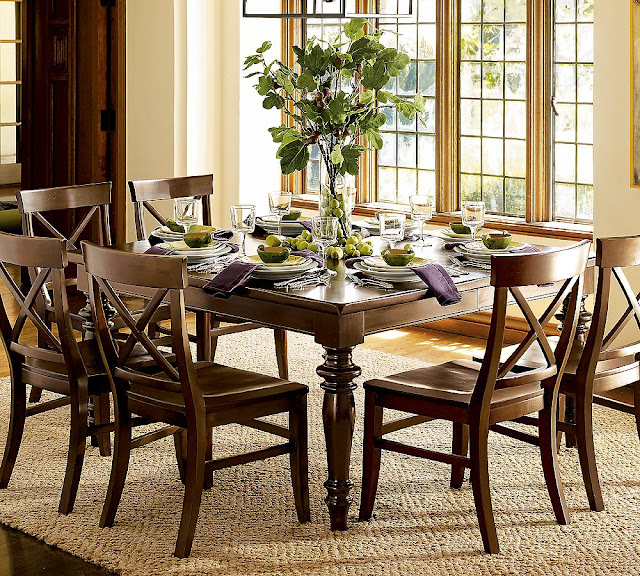 Wooden Material for Formal Dining Table