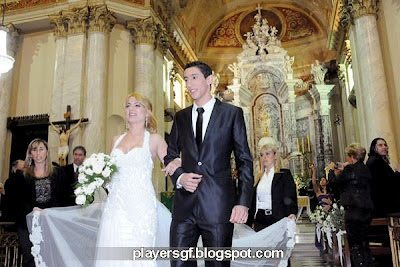 Di María and his Wife