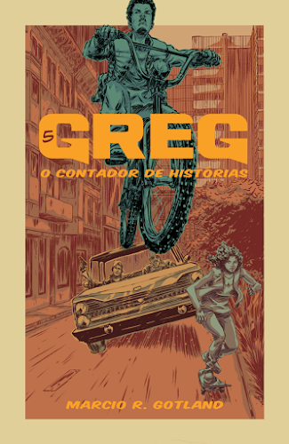 Capa do Volume 5 de Greg: O Contador de Histórias