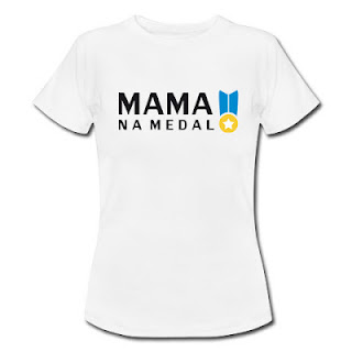 Koszulka Mama na medal