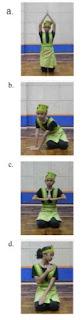 gambar pilihan jawaban urutan gerakan tari Bungong Jeumpa