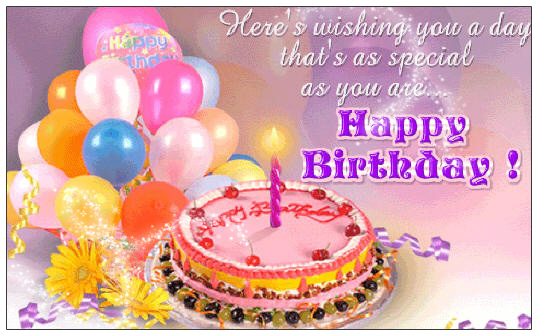 Cake Recipe Marathi Song: Hot Happy Birthday Balloons And Cake Wishes Cards