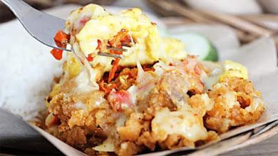 Ayam Geprek Crispy Mozarella