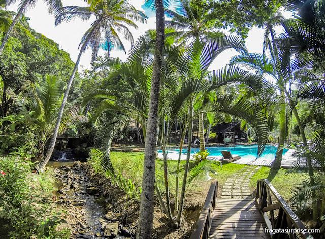 piscina do Itacaré Eco Residence, Praia de São José