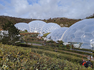 The Eden Project, February 2020