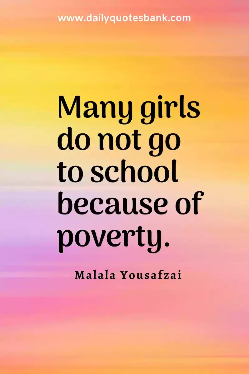 Inspirational Quotes About Poverty To Success