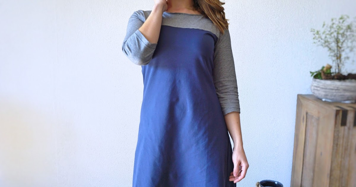 Faded Windmills: Blue Steel // Tilly & The Buttons Coco Dress ...
