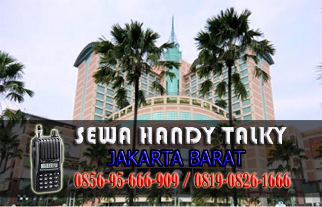 Pusat Sewa HT Area Jakarta Barat Rental Handy Talky Murah