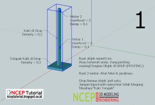 Cara Membuat Mekanisme Jalan - Tutorial SketchyPhysic