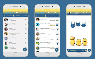 Minions Theme For YOWhatsApp & Fouad WhatsApp By Leidiane