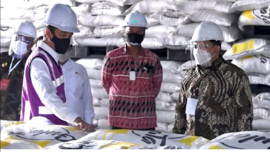 Peresmian Pabrik Produksi Gula Terbesar Di Indonesia Oleh Jokowi