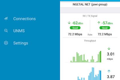 Fungsi Aplikasi UNMS Mobile Sebagai Pengganti airOS