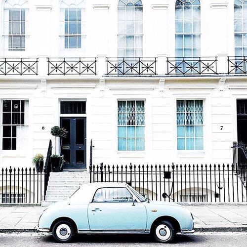 Vintage Cars_Pale Blue | Cool Chic Style Fashion