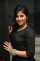 Anjali in Black Short Dress at Chitrangada Movie Success Meet ~  019.JPG
