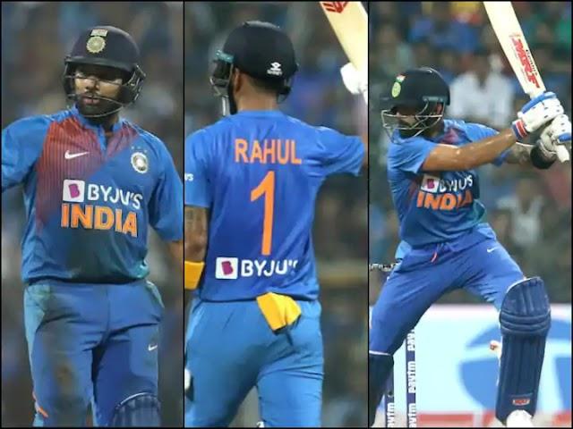 आईपीएल 2020 के लिए रोहित, राहुल और कोहली में से किसकी संभावित टीम है सबसे खतरनाक, देखें