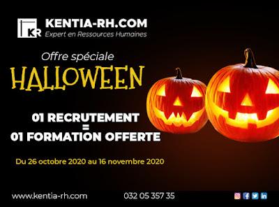 Offre Halloween Recrutement