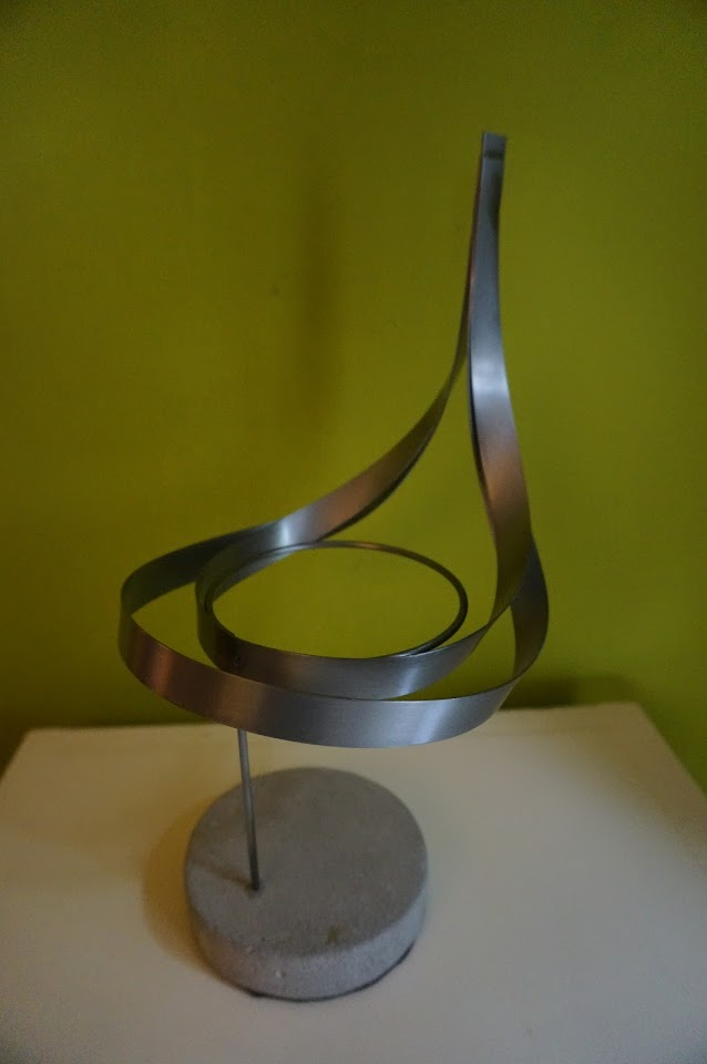 sculpture design metallic