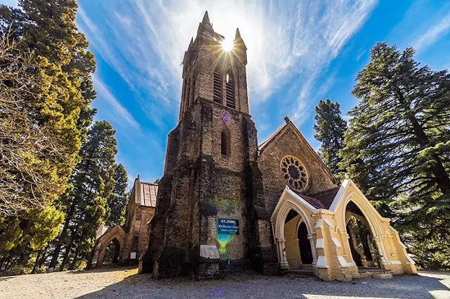 Places to Visit in Mcleodganj John Church
