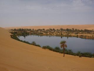 riassunto di geografia sulle oasi del deserto