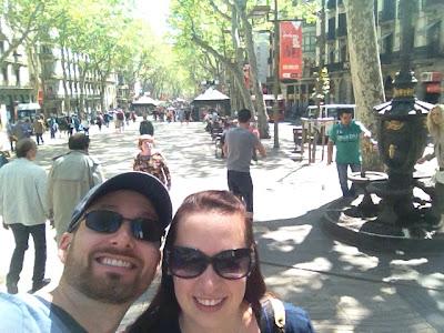 Revisiting Our Honeymoon - Barcelona, Spain - Las Ramblas