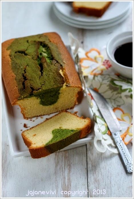 Marmer Cake Spesial Rasa Teh Hijau Ini Cara Membuatnya
