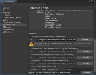 External Tools Java_Home is not set and no java hatası çözümü