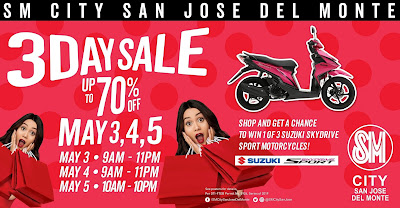 SM CITY SAN JOSE DEL MONTE'S HOTTEST SALE THIS SUMMER!