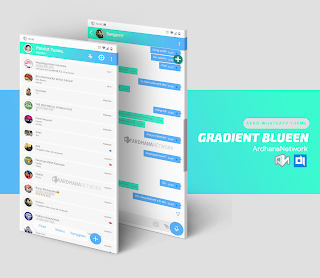Gradient Blueen