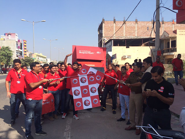 VODAFONE SuperNetTM 4G ON SUPERIOR 1800 MHZ LAUNCHED IN  KAITHAL