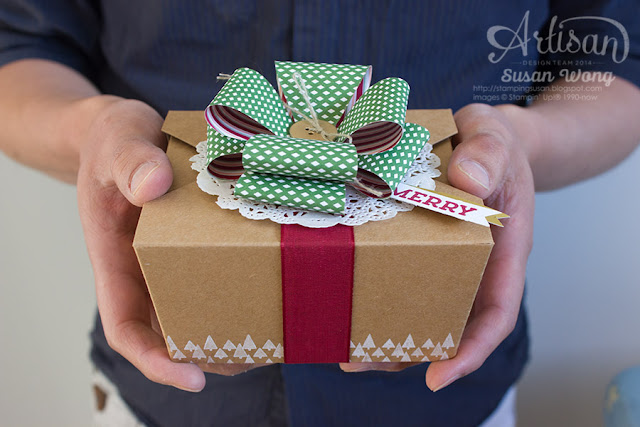 Gift Bow on a Takeout Box ~ Susan Wong