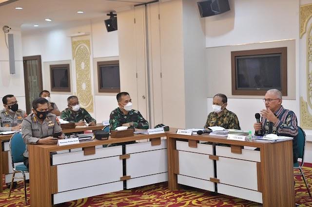 Satgas Covid-19 Bahas Pelaksanaan Ingub PPKM Mikro Level 4 Kota Banda Aceh