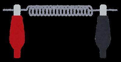 電熱線のイラスト(オフ)
