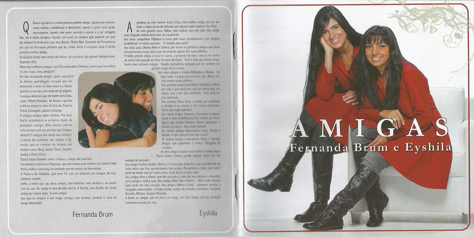 FERNANDA PARA AMIGAS CD BAIXAR EYSHILA BRUM E