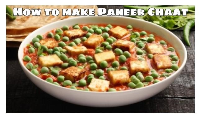 How to Make Matar Paneer Chaat ( Yummy Recipe Veg )