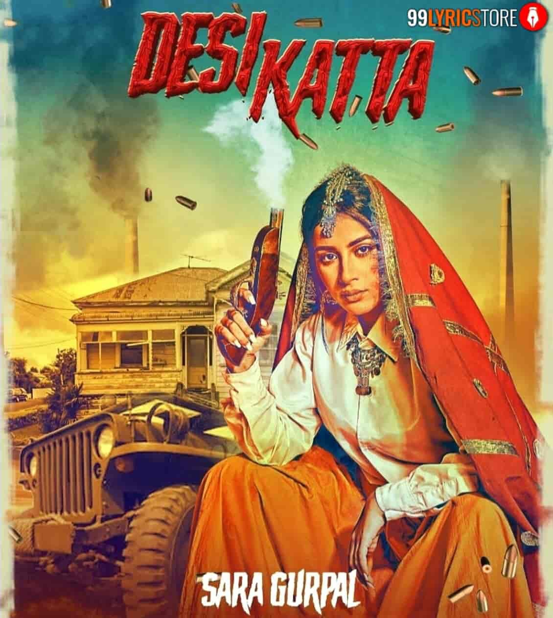 Desi Katta Lyrics Images Sara Gurpal