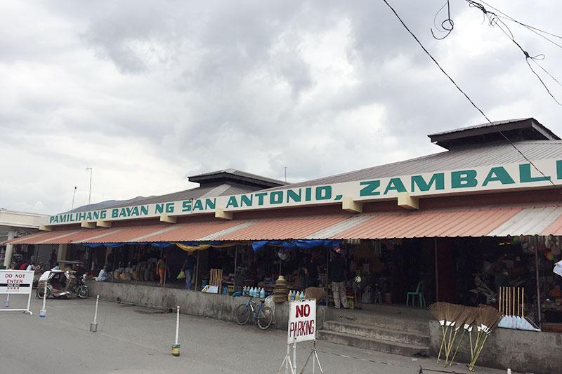 San Antonio Public Market in Zambales