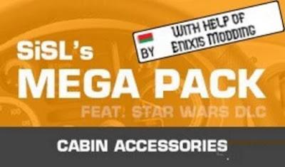 Aksesoris Kabin - SiSL's Mega Pack ETS2 1.41