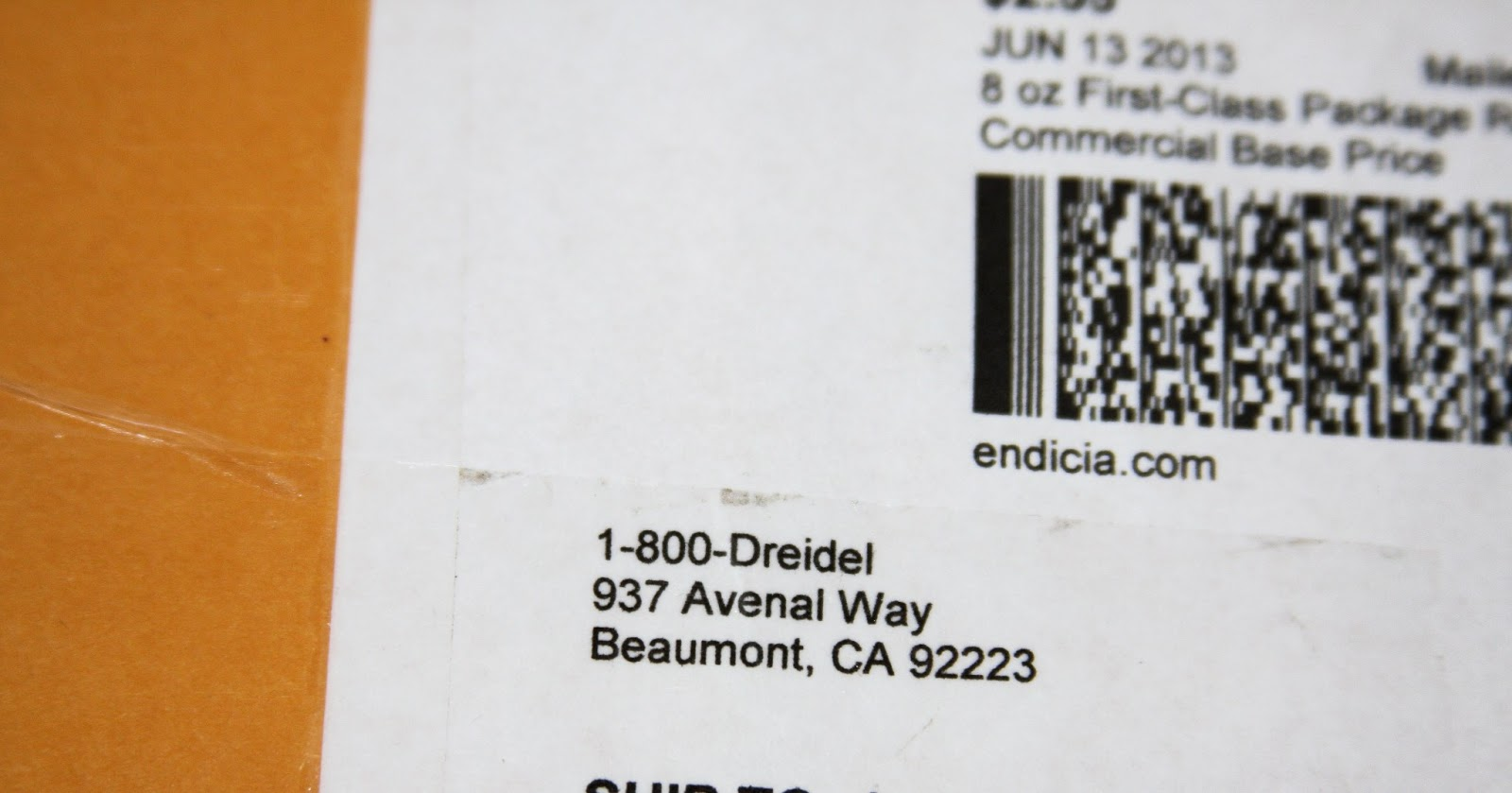 It Cracked Me Up To Place An Order With 1 800 Dreidel But