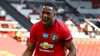 Revealed: Martial tops Manchester United goal charts for 2019/20