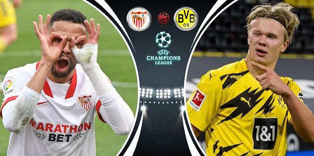 Sevilla vs Borussia Dortmund Prediction & Match Preview